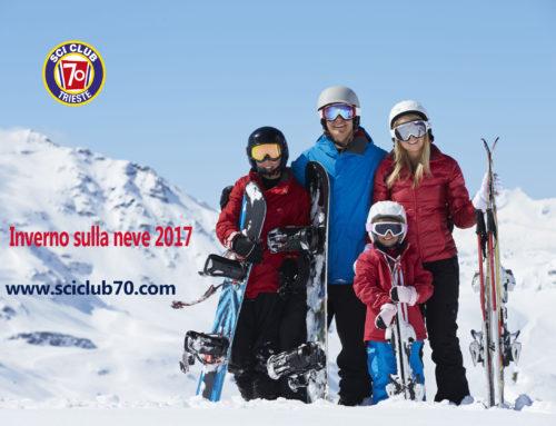 Attività sciatoria Inverno 2017