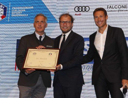 Il Ministro Lotti premia lo Sc70 di Trieste