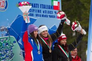 Campionati Italiani 2016 - super g - premiazioni